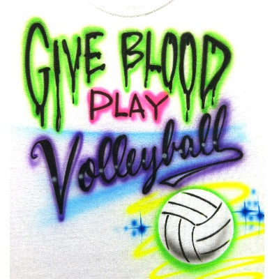 Give Blood Volleyball