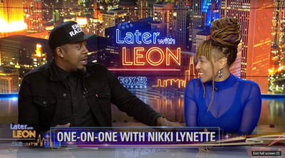 Nikki talks GET OUT ALIVE on Fox 32