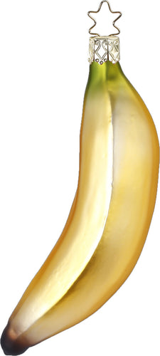 Banana Glass Ornament by Inge Glas of Germany