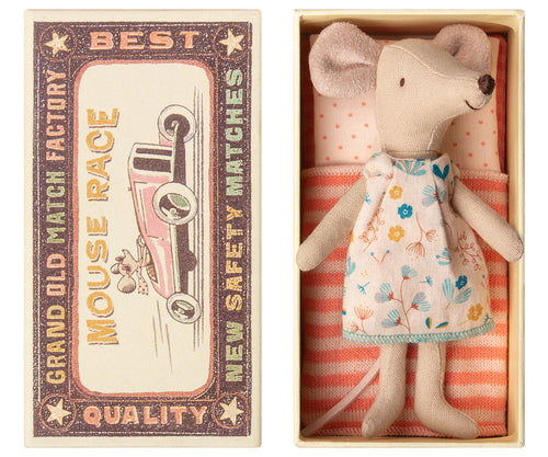 Big Sister Mouse in a Matchbox from Maileg 16-8736