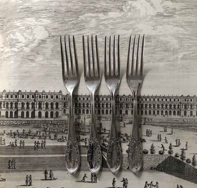 Antique Oddfellows Forks