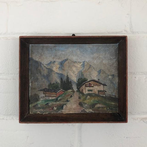 Small Antique Landscape Painting
