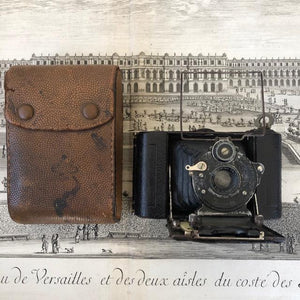 Antique Icarette Folding Camera c1912