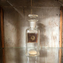 Load image into Gallery viewer, Antique Pharmacy Bottle Alcohol
