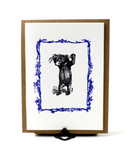 Load image into Gallery viewer, Austin Press Bear Letterpress Card