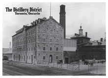 Load image into Gallery viewer, The Distillery District Postcard by Canadian Culture Thing