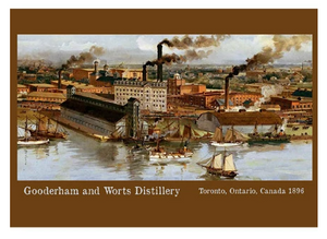 The Distillery District Postcard by Canadian Culture Thing