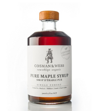 Load image into Gallery viewer, Cosman & Webb Organic Maple Syrup