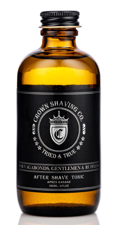 After Shave Tonic By Crown Shaving