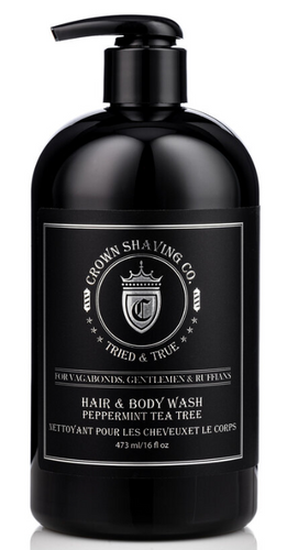 Crown Shaving Hair and Body Wash