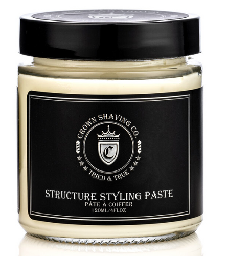 Crown Shaving Structure Styling Hair Paste
