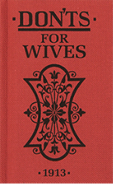Don'ts for Wives Book