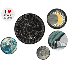 Load image into Gallery viewer, Earth Moon Stars Button Pack