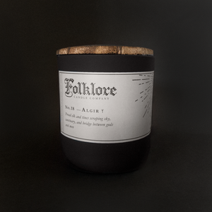 Algir Candle by Folklore Candle Company
