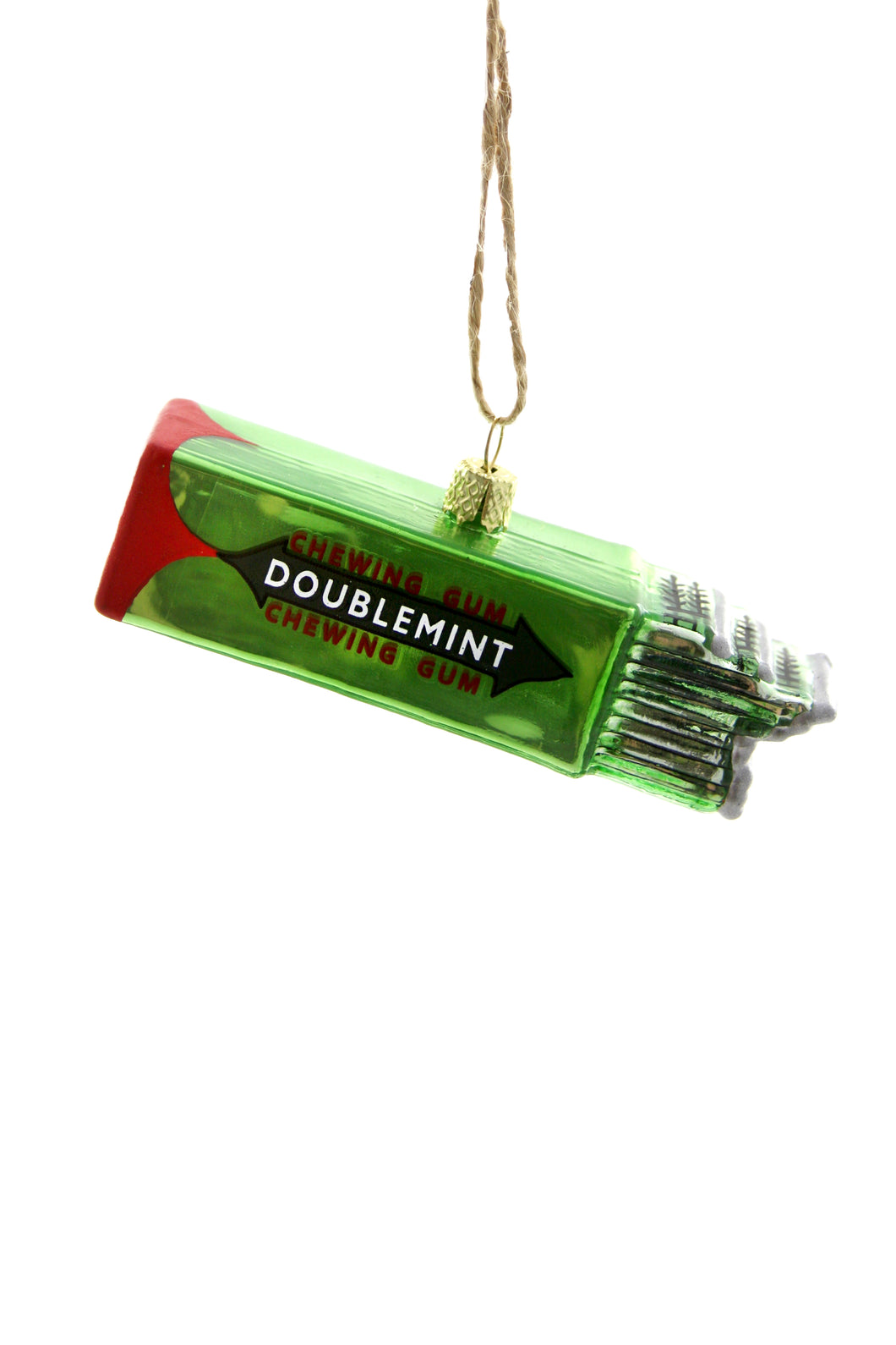 Wrigley's Chewing Gum Glass Ornament by Cody Foster & Co.