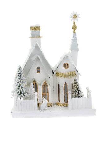 Winter Croft Papier Mache House by Cody Foster & Co