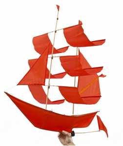 Sailing Ship Kite Flame