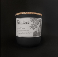 Load image into Gallery viewer, Hedge Witch Candle 10oz by Folklore Candle Company Made in Ontario Canada