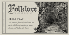 Load image into Gallery viewer, Holloway Candle By Folklore Candle Company Made in Ontario Canada