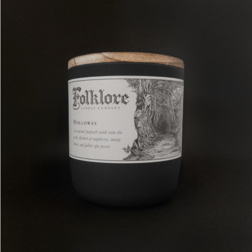 Holloway Candle By Folklore Candle Company Made in Ontario Canada
