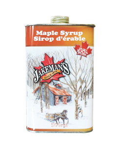 Jakeman's Maple Syrup Tin