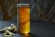 Load image into Gallery viewer, Mellifera Bees Ginger Infused Honey 8oz Bottle Made in British Columbia