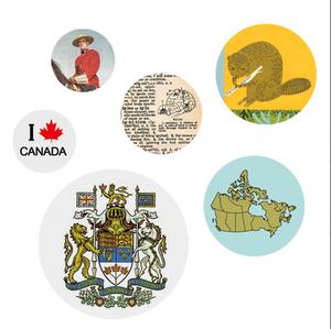 Oh Canada Pack of Buttons