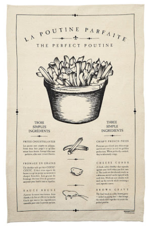 Poutine Tea Towel