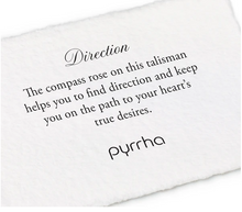 Load image into Gallery viewer, Pyrrha - Direction Talisman Necklace
