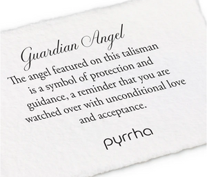 Pyrrha - Guardian Angel Talisman Necklace