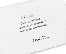 Load image into Gallery viewer, Pyrrha - Sincere Talisman Necklace