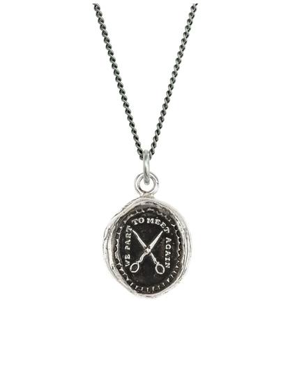 Pyrrha We Part To Meet Again Talisman Necklace