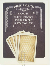 Load image into Gallery viewer, Birthday Fortune Greeting Card