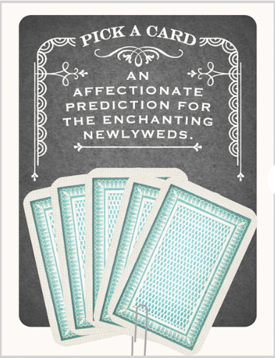 Newlyweds Fortune Card