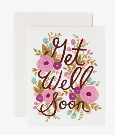 Get Well Soon Card by Rifle Paper