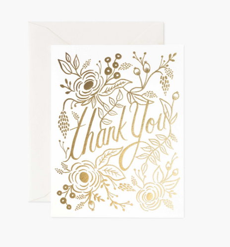 Thank You Card by Rifle Paper