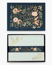Load image into Gallery viewer, Rifle Paper Co Social Stationery Set