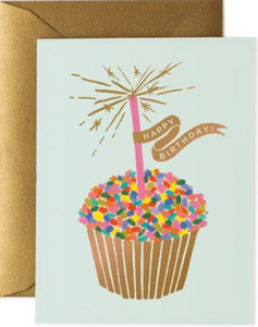 Cupcake Birthday Card by Rifle Paper