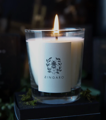 Pure Zingaro Dark Collection Candle