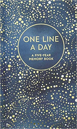 One Line a Day Celestial Five Year Journal