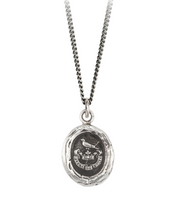 Load image into Gallery viewer, Pyrrha Unbreakable Sterling Silver Talisman Necklace Made in Canada