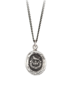 Pyrrha Unbreakable Sterling Silver Talisman Necklace Made in Canada