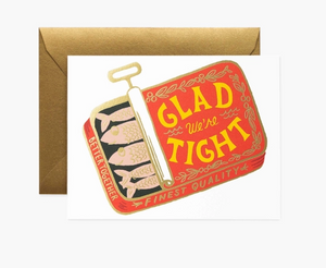 We're Tight Card by Rifle Paper Company