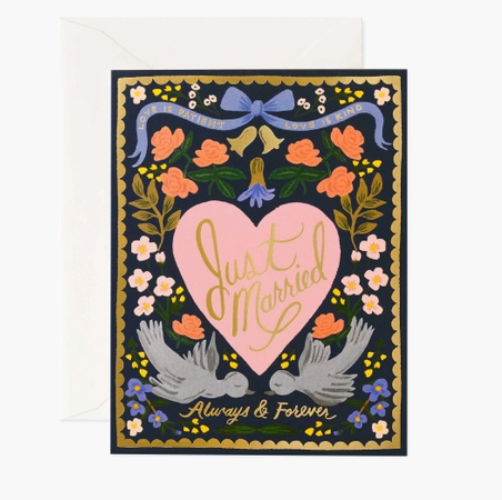 Love Birds Card by Rifle Paper Company