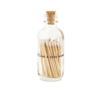 Mini Poetry Match Bottle