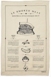 Smoked Meat Tea Towel