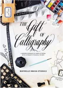The Gift of Calligraphy Book