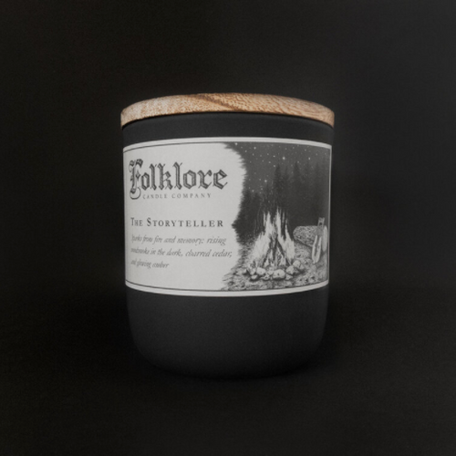 The Storyteller Candle Folklore Candle Company Made in Ontario Canada