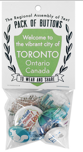 Toronto Button Pack