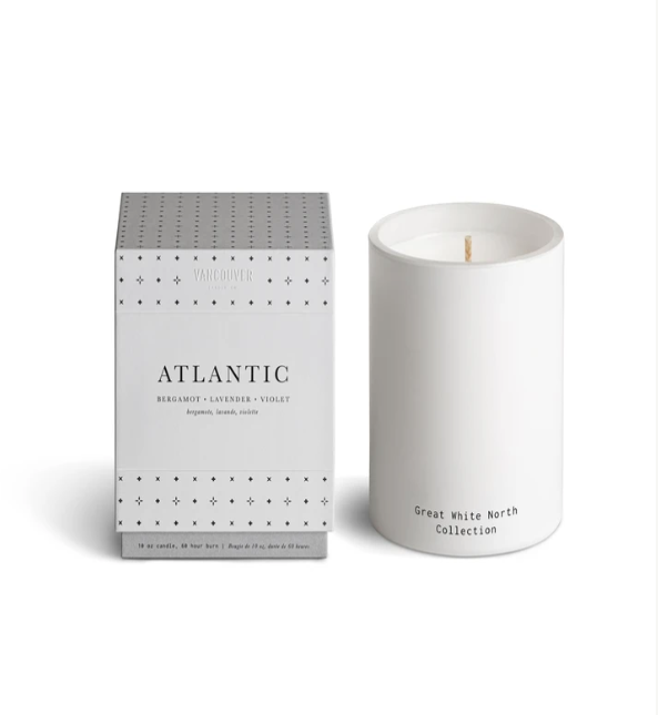 Vancouver Candle Atlantic Soy Candle 60Hr Burn